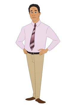 """An Artist Animated """"The Office"""" Characters And They're All Truly Amazing-Oscar The Office Show, Office Tv, Office Memes, Office Quotes, Office Cast, Office Style, Character Drawing, Character Illustration, Character Design"""