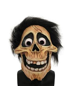 Brand New Official License Beetlejuice Deluxe Adult Overhead Mask
