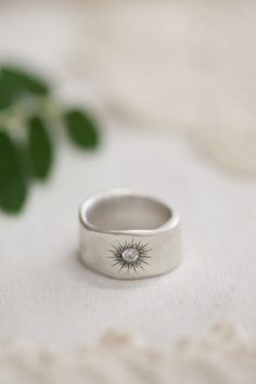 sunburst diamond ring {sterling silver} | Lisa Leonard Designs Gimme gimme gimme