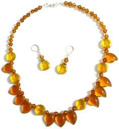 Glass Bead Jewelery Set