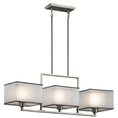 CanadaLightingExperts | Kailey - Three Light Linear Chandelier