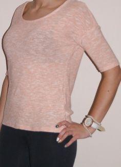 Kup mój przedmiot na #vintedpl http://www.vinted.pl/damska-odziez/kardigany/7930595-piekny-lososiowy-sweterek-medicine-zip