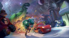 Disney Infinity videogame concept art