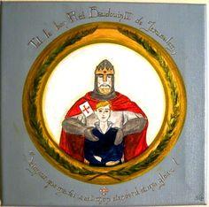 Balduíno IV - o heroico rei de Montgisard.