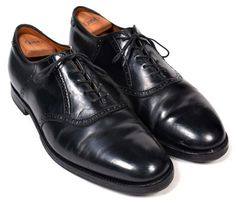 ALDEN Saddle Oxford Black 993 SHELL CORDOVAN Dress Shoes Mens US 10.5 B/D #Alden #Oxfords