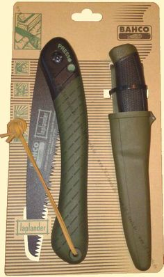 Very nice bushcraft set-up: Bahco Laplander saw and Mora Clipper knife. Where is this for sale?
