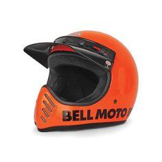 CASQUE BELL MOTO 3 réédition Orange