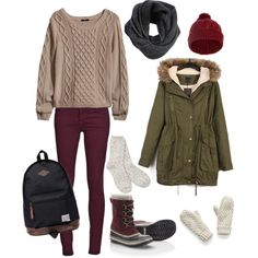 Fall / Winter Outfit / Going to Alberta