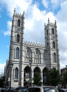 Description Basilique Notre-Dame, Montréal, Qc. Montreal Ville, Building, Travel, Viajes, Buildings, Destinations, Traveling, Trips, Construction