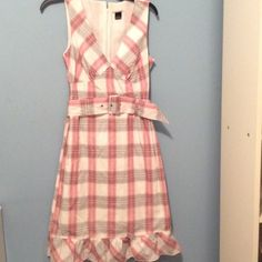 Mac & Jac dress size 4 never worn Nice fit soft with lining Mac & jac Dresses