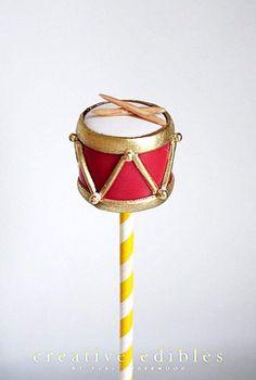 Drum Cake Pop