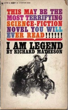 I Am Legend, Richard Matheson  MUCH better than the movie. Very good book.