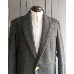 0 Herringbone, Shawl, Blazer, Wool, Polyvore, Jackets, Men, Fashion, Down Jackets