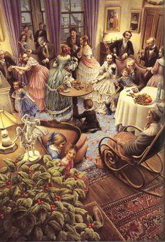 "Charles Dickens ""Christmas Carol"" – Illustrated by Roberto Innocenti: chetvergvecher — ЖЖ"