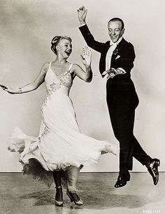 1949: Fred Astaire and Ginger Rogers in The Barkley's of Broadway