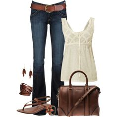 Neutral, created by bayelle on Polyvore