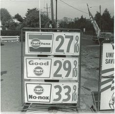 Gulf gas prices back in the good ole days