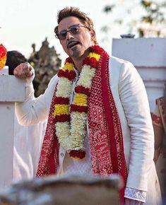 Robert Dawney jr. In india #Spiderman home coming