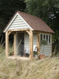 Man cave or woman cave or just a time out shed for for Prefab she shed