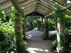 Minnehaha Falls Pergola Gardens