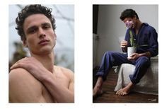 """Simon Nessman in """"A Flor Da Pele"""" (""""On Edge"""") by Hadar Pitchon for the Spring Summer 2017 Issue of L'Officiel Hommes Brazil"""