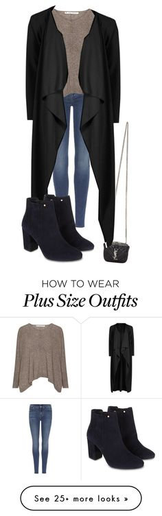 """Untitled #2343"" by jem0kingston on Polyvore featuring 7 For All Mankind, Yves Saint Laurent, Boohoo and Monsoon"