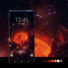 Samsung Galaxy Wallpaper, Night Skies, Badge, Android, Smartphone, Wallpapers, Fantasy, Store, Design