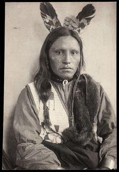 Unidentified Sioux, possibly Bad Bear_ photographer Gertrude Käsebier