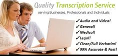 I will Accurately Transcribe 7 minutes of Audio or Video in English Internet Marketing, Social Media Marketing, Text Service, Animated Smiley Faces, Verbatim, Ghost Adventures, Do Video, Budgeting 101, Business Video