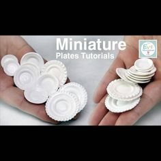 Tutorial video is here ♡♡♡ http://www.youtube.com/user/TheCLAYROOM #miniature…