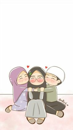 Best Friend Quotes Funny, Easy Doodle Art, Islamic Cartoon, Anime Muslim, Hijab Cartoon, Baby Boy Pictures, Islamic Quotes Wallpaper, Girls With Flowers, Cute Girl Wallpaper