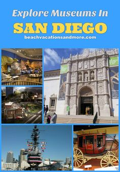 Top San Diego Museums: USS Midway, Maritime Museum, Air & Space, Model Railroad, Art, Natural History and others