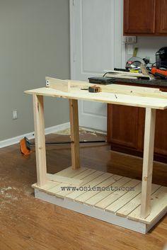 DIY Kitchen Island