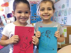 Keiki in HCAP's Head Start program made holiday cards for children at Shriners Hospital