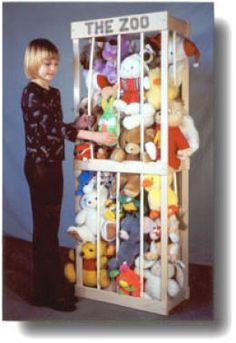 """""""The Zoo"""" storage for stuffed animals"""