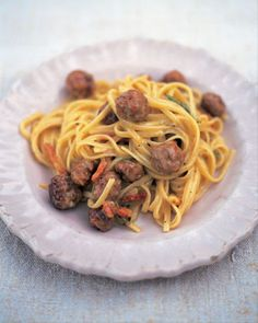 Sausage Carbonara - sounds yummy and easy