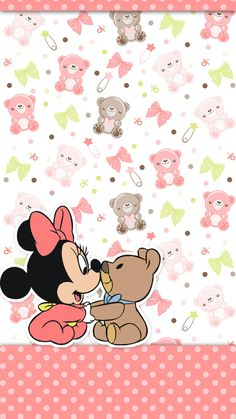 Iphone Wallpapers Baby Design Minnie Mouse Ttwilidesign