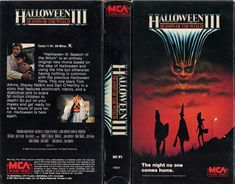 Halloween III: Season Of The Witch VHS Cover