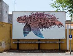"Alexis Diaz ""Maverick Nature"" New Mural – Casarano, Italy"