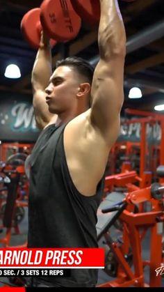 Shoulder Workout |ARK Fitness | Shoulder Exercises Part 74 Fitness Workouts, Gym Workouts For Men, Gym Workout Videos, Weight Training Workouts, Gym Workout For Beginners, Bicep And Tricep Workout, Dumbbell Workout, Shoulder Workout Routine, Shoulder Exercises