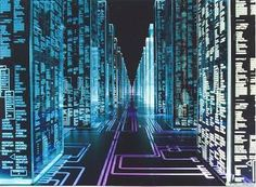 Hackers (movie) - Tron-like aesthetics Internet Art, Internet Memes, Mail Art, Cyberpunk Movies, Cyberpunk 2020, Cyber Warfare, New Retro Wave, Saints Row, Software