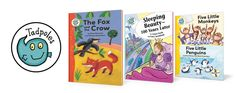 Tadpoles Collection (assorted series collections on Fairytales, Tales, Nursery Rhymes and more! (Crabtree Publishing) #reading