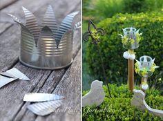 Tante Malis Gartenblog: Sommer!!! und Dosenlichter DIY                                                                                                                                                     Mehr