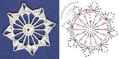 snowflakes crochet 77