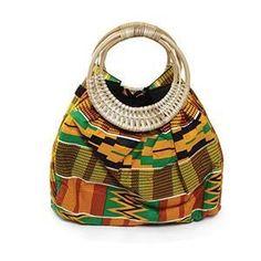 Colors Of Ghana Kente Purse African Fashion Designers, African Inspired Fashion, African Men Fashion, Africa Fashion, Ghana Fashion, African Accessories, Fashion Accessories, African Jewelry, Kente Styles