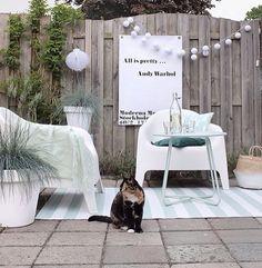 Deze prachtige foto maakte @sandra_koseligblog. De tuin make-over kan je terug vinden op haar blog én deze tuinposter kan je winnen in onze weggeefactie!