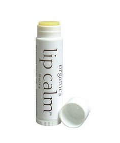 Best All-Natural Lip Balms for Winter  Made with organic ingredients, John Masters Organics Lip Calm is so soothing it won't sting or irritate cracked lips. The cocktail of jojoba, olive, and borage oils is gentle but moisturizing and healing. Bonus: The packaging is biodegradable.    To buy: $6, johnmasters.com.