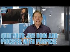 How To Quit Your Job Now, Survive, & Prosper With Purpose Quitting Your Job, Tv Episodes, Ted Talks, Mindset, Hardwood Floors, Purpose, Moisturizer, Flooring Installation, Feelings