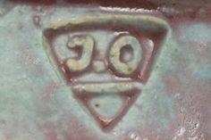 Jeffrey Oestreich - JO mark triangle Pottery Marks, Triangle, Artist, Studio, Artists, Studios