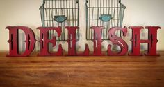Free Standing Wood Letters-Stand Alone Letters-Home Decor